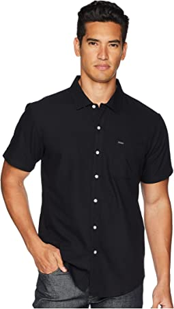 Brixton Charter Oxford Short Sleeve Woven