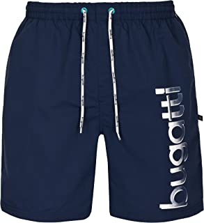 4669c0a137 Bugatti Men's Swimming Shorts in Navy Blue, Turquoise or Black