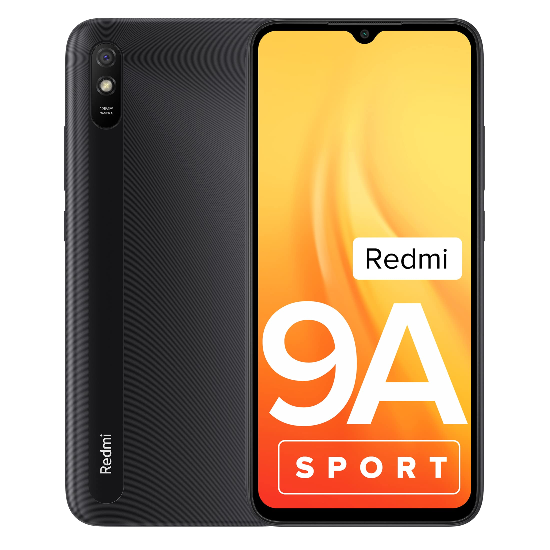 Redmi 9A Sport (Carbon Black, 2GB RAM, 32GB Storage)