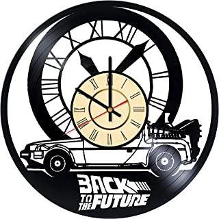 Back To The Future Car Clock, Vinyl Record, Back To The Future Wall Art, Back To The Future Wall Accessories, Back To The ...