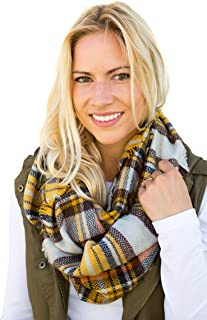 Best plaid scarf burgundy Reviews
