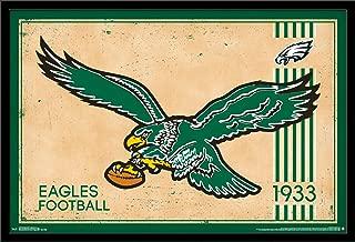 Trends International NFL Philadelphia Eagles - Retro Logo Wall Poster, 22.375