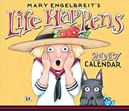 Mary Engelbreit 2017 Day-to-Day Calendar: Life Happens
