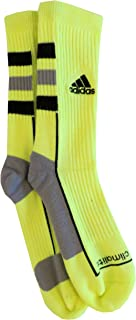 Men's Team Speed Crew Socks (Medium (shoe size 6.5-9), Yellow/Black)