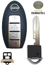 4 Button 2013-2015 Nissan Leaf Smart Proximity Remote Key Cwtwb1u840 W/ Insert Key