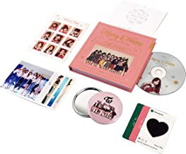 TWICE 1st Repackage Album - Merry & Happy [ HAPPY Ver. ] CD + Photo book + Photo card + Post card + Sticker + FREE GIFT / K-pop Sealed
