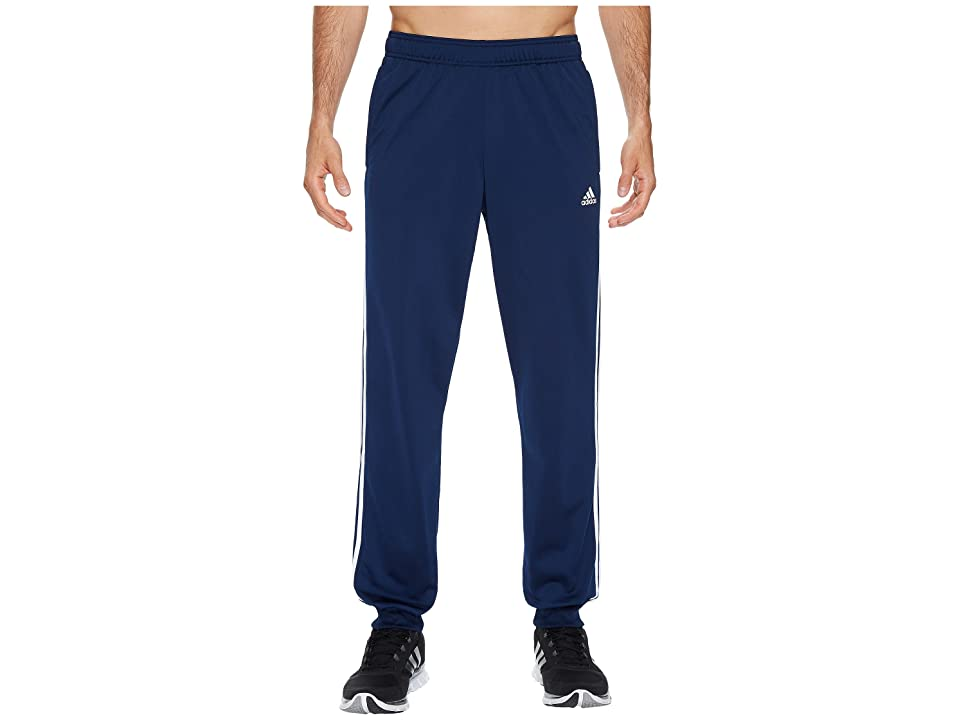 adidas Essentials 3S Tapered Tricot Pants (Collegiate Navy/White) Men