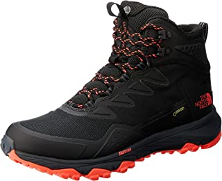 The North Face Women's Ultra Fastpack Iii Mid GTX Trekking & Hiking Boots, Tnfblk/Firy Coral