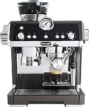 DeLonghi Pump Coffee Machine, 1450W, Integrated Coffee Grinder, Black - DLEC9335.BK
