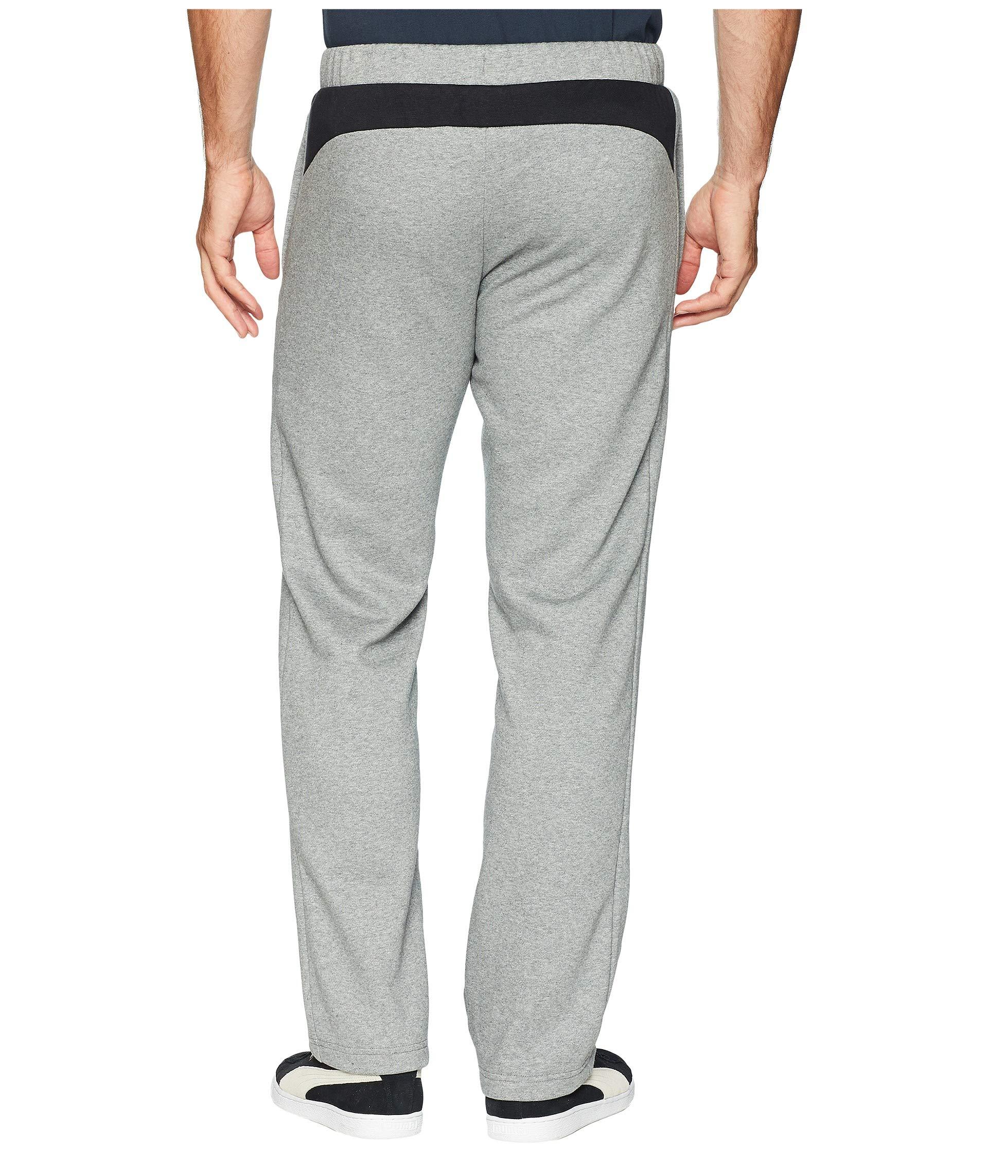 Medium Modern Open Sports P48 Heather Fleece Pants Grey Puma w4PqU1xYn