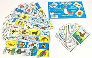 El Cowboy Mi Tierra Mexican Loteria Bingo Traditional Card Game - 10 Player 10 Board 54 Cards