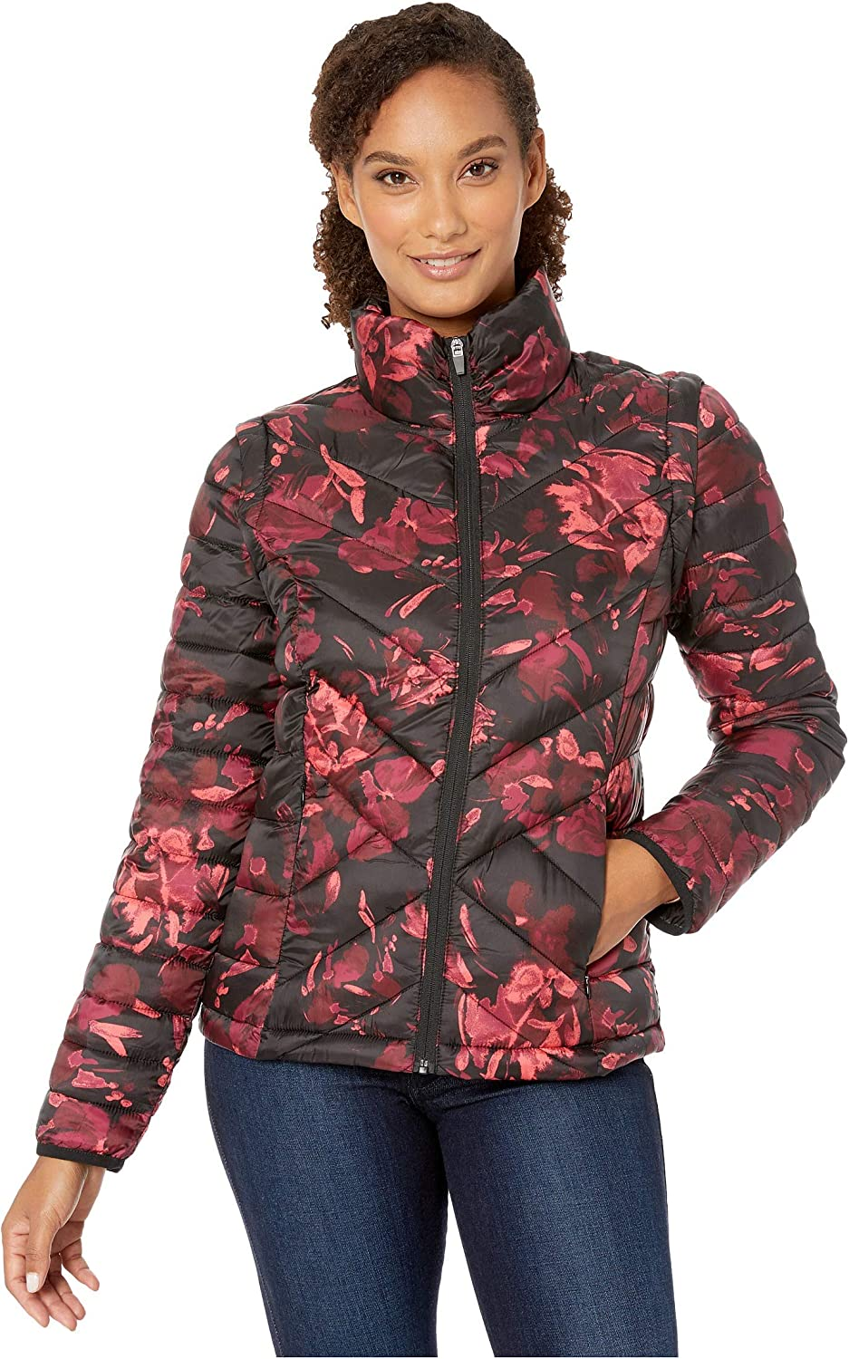 Tribal Women's Printed Ranking TOP14 Detachable Recommendation Puffer Jacket Sleeve