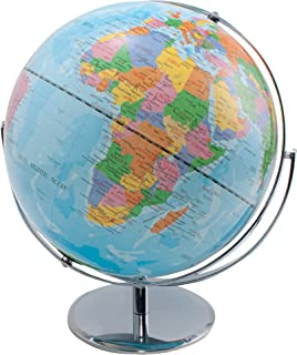 "ADVANTUS 12"" Desktop World Globe with Blue Oceans (30502)"