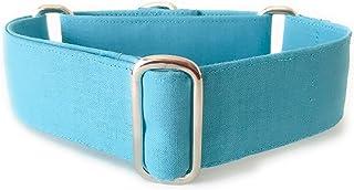 Collar Martingale para Perro Hecho a mano en España - Modelo Azul Celeste