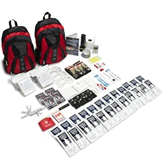 Emergency Zone The Essentials Complete Deluxe Survival 72-Hour Kit, Prepare Your Family for Hurricanes, Earthquakes, FLOOD...