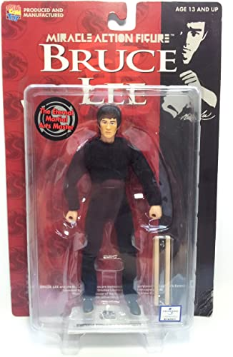 Bruce Lee Miracle Action-Figur (Schwarz