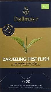 Dallmayr Teepyramide First Flush Darjeeling Bio, 1er Pack 1 x 50 g