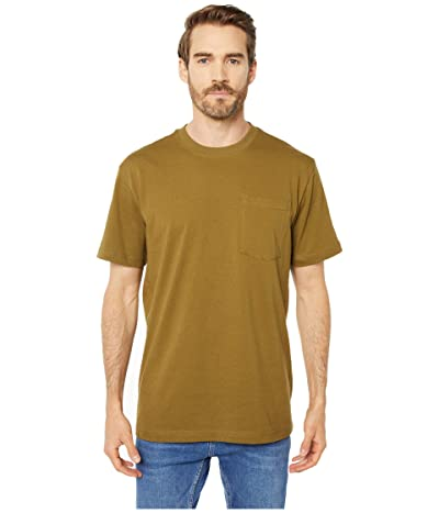 Filson Short Sleeve Outfitter Solid One-Pocket T-Shirt (Olive Drab) Men