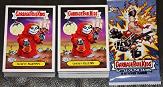2017 TOPPS GARBAGE PAIL KIDS BATTLE OF THE BANDS COMPLETE BASE CARD SET - 180 CARDS