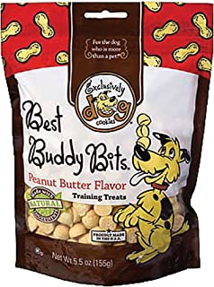 Best Buddy Bits Dog Treat Flavor: Peanut Butter, Quantity: 5.5-oz