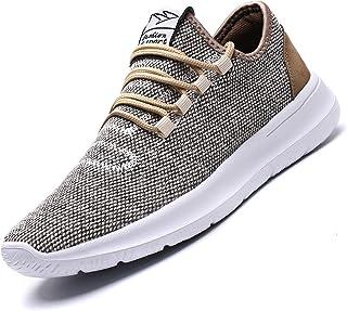 Srenket Mens Casual Athletic Sneakers Comfortable Running Shoes Light Tennis Zapatos Footwear for Men Walking Workout
