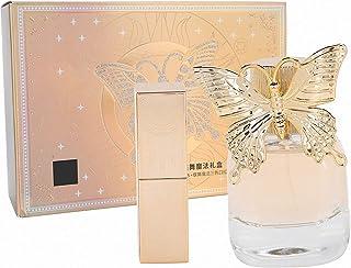 Women Perfume GiftWomen Elegant Fragrance Perfume 3 Color Lipstick Set Valentines Day Festivals Gift