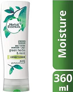 Herbal Essences Detox Moisture Green Herbs & Mint Conditioner 360ml
