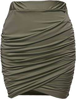 Best ruched draped skirt Reviews