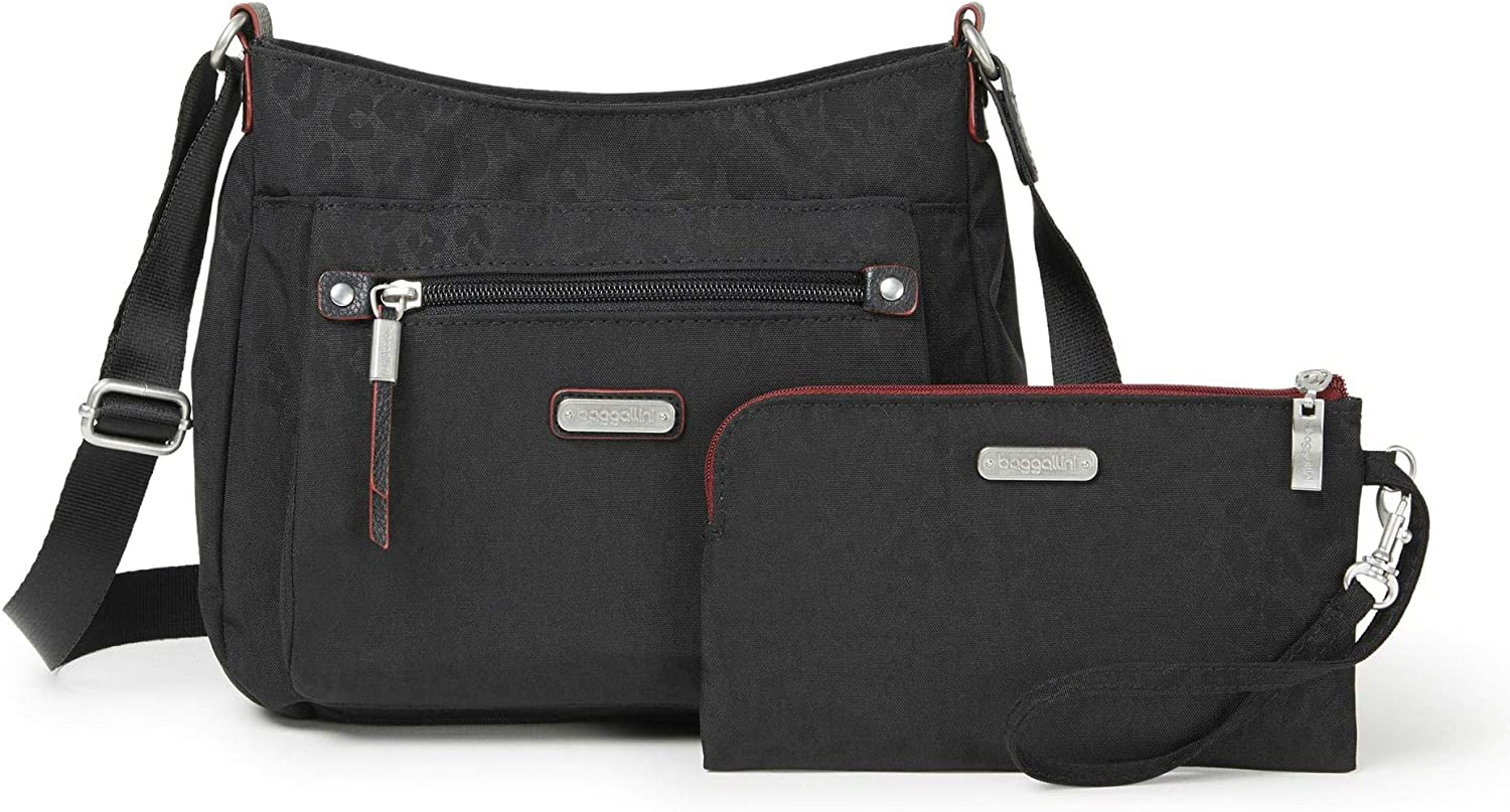 Baggallini New Classic Uptown Bagg with RFID Phone Wristlet