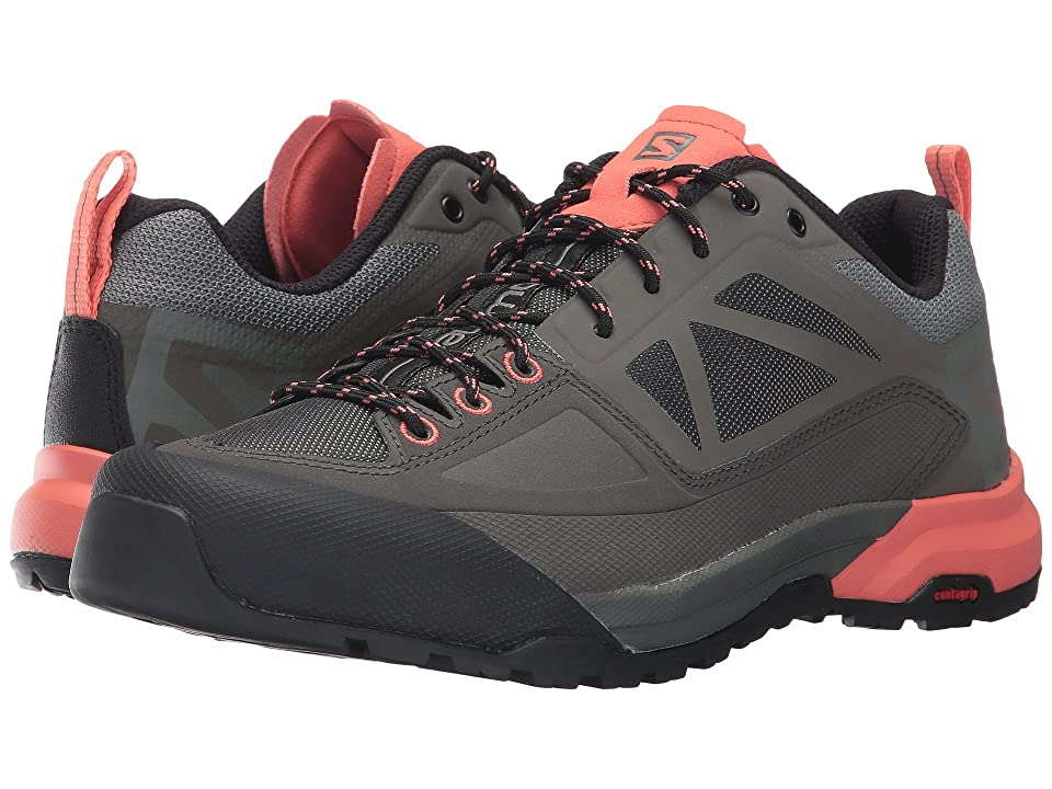 Salomon X Alp Spry (Castor Gray/Beluga/Living Coral) Women