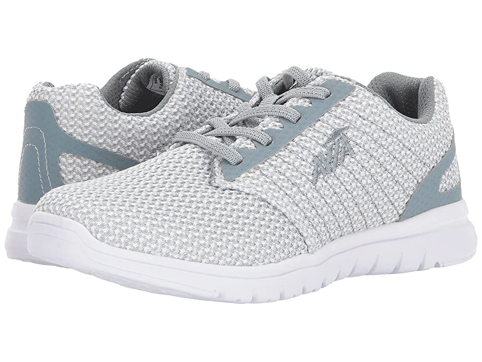 Avia Avi-Solstice (White/Cool Mist Grey/Saber Blue) Women