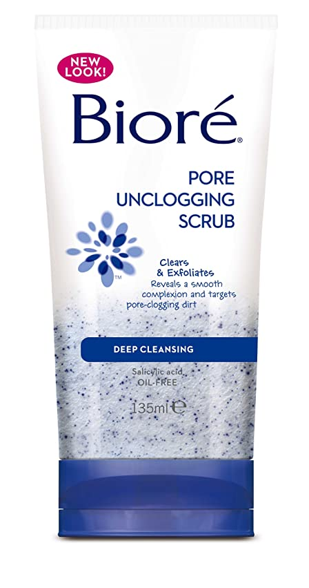 大量武装解除サラミBiore Pore Unclogging Scrub 135ml