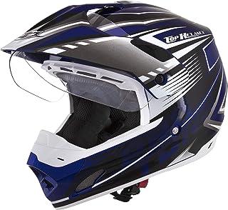 Pro Tork Capacete Th1 Vision Adventure 60 Azul/Branco