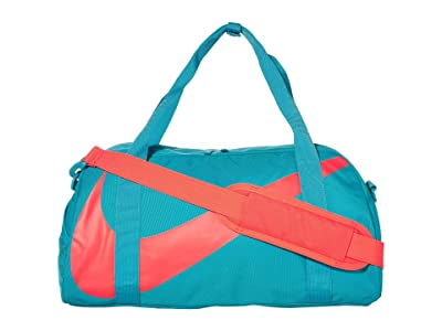 Nike Kids Gym Club Duffel Bag (Little Kids/Big Kids) (Teal Nebula/Teal Nebula/Bright Crimson) Duffel Bags