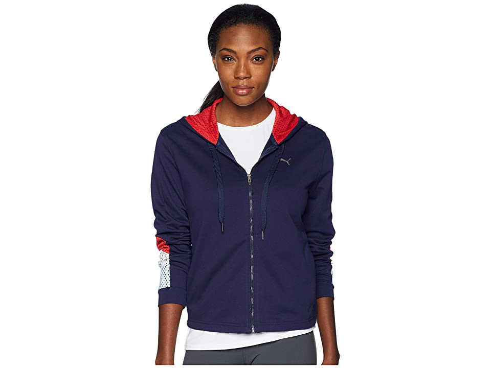 PUMA A.C.E. Sweat Jacket (Peacoat) Women