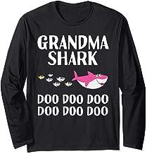 Grandma Shark Doo Doo Halloween Christmas Mother's Day Gift Long Sleeve T-Shirt