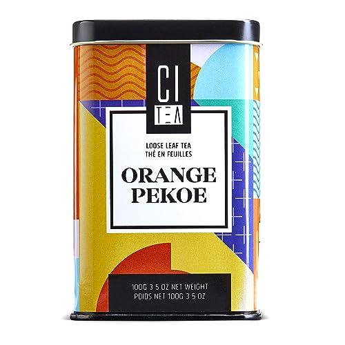 Orange Pekoe Loose Leaf Tea, Premium Black Tea 100g-Citea