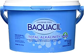 Baquacil 84357 Total Alkalinity Increaser Swimming Pool Balancer, 4 lbs