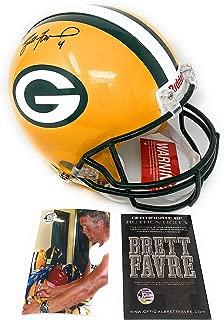 Brett Favre Green Bay Packers Signed Autograph Full Size Proline Authentic Helmet B Favre Certified