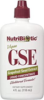 Nutribiotic Gse Liquid Concentrate, 4 Fl Oz (Pack of 1)