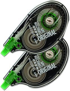 Tombow 68627 MONO Correction Tape, Non-Refillable, 1/6
