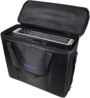 """Rockville 4U Rack Bag Double-Sided Case with 16"""" Depth + Shoulder Strap RRB45"""
