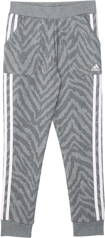 adidas Girl's Cotton Fleece All Over Print Joggers (Big Kids)