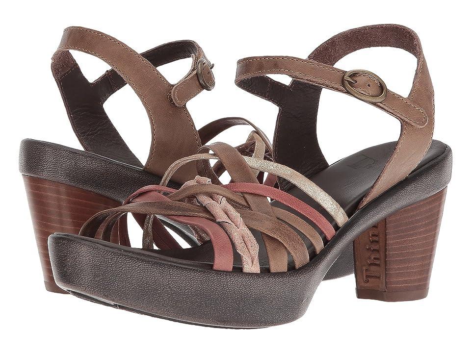 Think! Gspusal Strappy Sandal 82535 (Macchiato/Kombi) Women