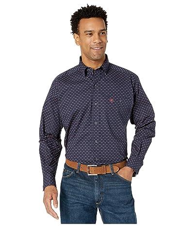 Ariat Muscular Stretch Print Shirt (Peacoat) Men