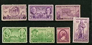 1936 Complete Set Regular Postage Stamps issued in 1936