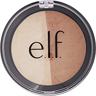 Elf Cosmetics Baked Highlighter & Bronzer 83372 Bronzed Glow, 0.6 Ounce