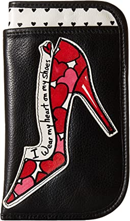 Brighton - Fashionista Shoe Love Double Eye Glass Case