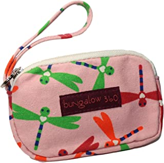 Bungalow 360 Canvas Clutch Coin Purse