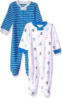 Amazon Essentials - Pack de 2 pijamas de niño para dormir y